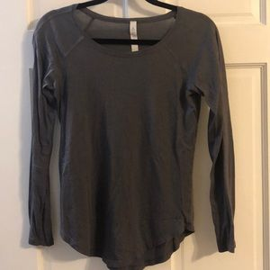 Lulu lemon long sleeved top